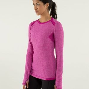 Lululemon Long Sleeve Base Runner Athletic Top